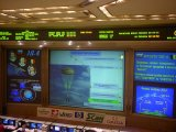 Ruské řídicí středisko v průběhu přistání Sojuzu TM-34 (09.11.2002)