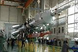 Sojuz TMA-10 při předstartovní přípravě