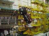 Předstartovní příprava Sojuzu TMA-2 na Bajkonuru (20.04.2003)