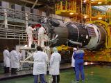 Příprava Sojuzu TMA-3 na Bajkonuru (11.10.2003)