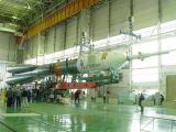 Příprava Sojuzu TMA-3 na Bajkonuru (15.10.2003)