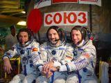 Posádka Sojuzu TMA-3 po ukončení výcviku (2003)