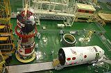 Sojuz TMA-8 při předstartovní přípravě