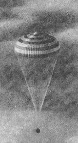 Sestup návratové kabiny Sojuzu 31