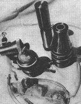 Cibule rostla na palubě Saljutu 6 v tomto speciálním pouzdru
