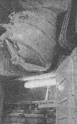 Komora na odpadky, v níž byla umístěna elektrická pícka Splav-01