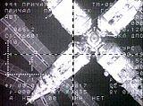 Mir při přibližování Sojuzu TM-29 (22.02.1999)