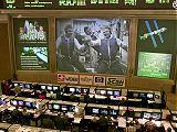 Ruské řídicí středisko po vstupu Expedice 1 do ISS (02.11.2000)