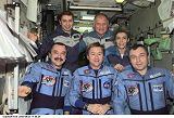 Posádka Sojuzu TM-33 a Expedice 3 na ISS (24.10.2001)