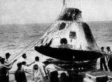 Kabina Apolla 4 po přistání (09.11.1967)