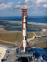 Saturn 5 s Apollem 4 na rampě 39A