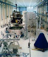 Příprava LEMu pro bezpilotní let Apollo 5