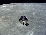 CM a SM Apolla 10 na Měsícem