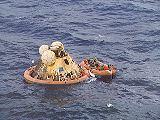 Apollo 11 po přistání (24.07.1969)