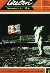 Edwin Aldrin, jeden z prvních lidí na Měsíci (Foto na titulní straně L+K č.20/1969 - Snímek : NASA - N.Armstrong)