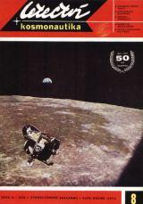 Startovní část LM Apolla 11 nad Měsíčním povrchem. (Foto na obálce L+K č.8/1971 - Snímek NASA)