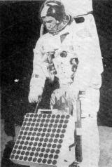 LRRR - nebo jak říkají kosmonauti LR3 - při pozemních zkouškách