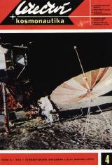 Alan Bean, LMP Apolla 12, při vykládání ALSEPu (foto na obálce L+K č.4/1970)