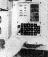 Ovládací pult palubního počítače – foto
