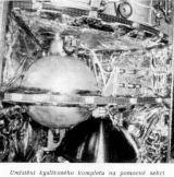 Foto: Umístění kyslíkového kompletu na pomocné sekci