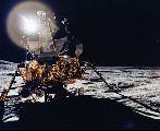 Modul Antares na povrchu Měsíce