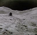 Modul Falcon u měsíčních Apenin