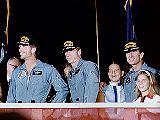 Posádka Apolla 15 po přistání (07.08.1971)