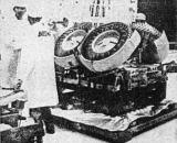 Složený Rover na montážní plošině