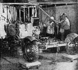 Zkoušky vykládání Roveru - vyložení