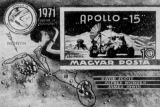 Foto: Apollo 15 - poštovní známka Maďarska