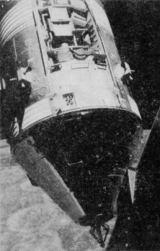 Už na cestě k Měsíci kosmonauti odhodili boční panel na pomocné sekci. Soubor vědeckých přístrojů SIM byl připraven na měsíční program