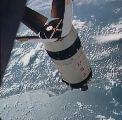 Setkání Apolla 7 s posledním stupněm S4B (11.10.1968)