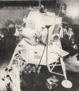Jeden ze starších modelů LM při pozemních zkouškách