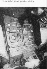 Prostřední panel palubní desky