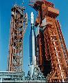 Raketa Atlas s cílovým tělesem Agena