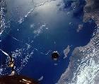 Agena TV-11 spojená lanem s Gemini 11 (14.09.1966)