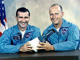 Posádka Gemini 11 (zleva Gordon a Conrad)