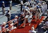 Lovell a Aldrin přicházejí ke Gemini 12 (11.11.1966)