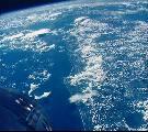 Pobřeží Floridy fotografované z Gemini 5