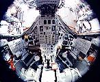 Interiér Gemini 7