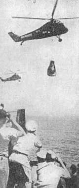 Transport kabiny vrtulníkem na loď