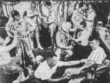 Šatna amerických kosmonautů v programu Mercury