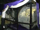 Pohled na restaurovanou kabinu Mercury MR4
