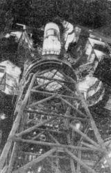Saturn 1B pro první posádku Skylabu na nosné konstrukci
