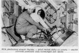 MDA, přechodový adaptér Skylabu - jehož vnitřek vidíte na snímku - umožní současné parkování dvou kosmických lodí Apollo