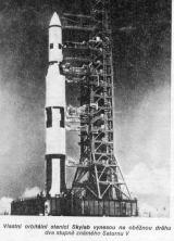 Vlastní orbitální stanici Skylab vynesou na oběžnou dráhu dva stupně známého Saturnu V