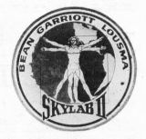 Emblém druhé posádky stanice Skylab