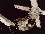Stanice Skylab při odletu SL-3 (25.09.1973)
