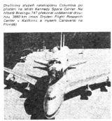 Družicový stupeň Columbia na hřbetě Boeingu 747