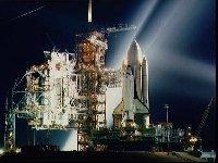 Americký raketoplán STS-1 před startem (12.04.1981)